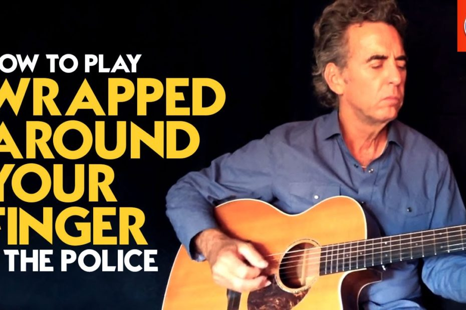 How to Play Wrapped Around Your Finger by The Police - Jimmy Dillon Acoustic Guitar Lesson