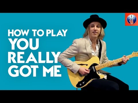 How to Play You Really Got Me - The Kinks Song Lesson