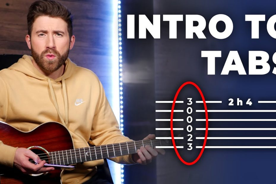 How To Read Guitar Tabs (Beginner Guide - ALL SYMBOLS)