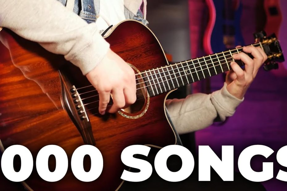 I LEARNED 1000 SONGS to find the PERFECT chord progression