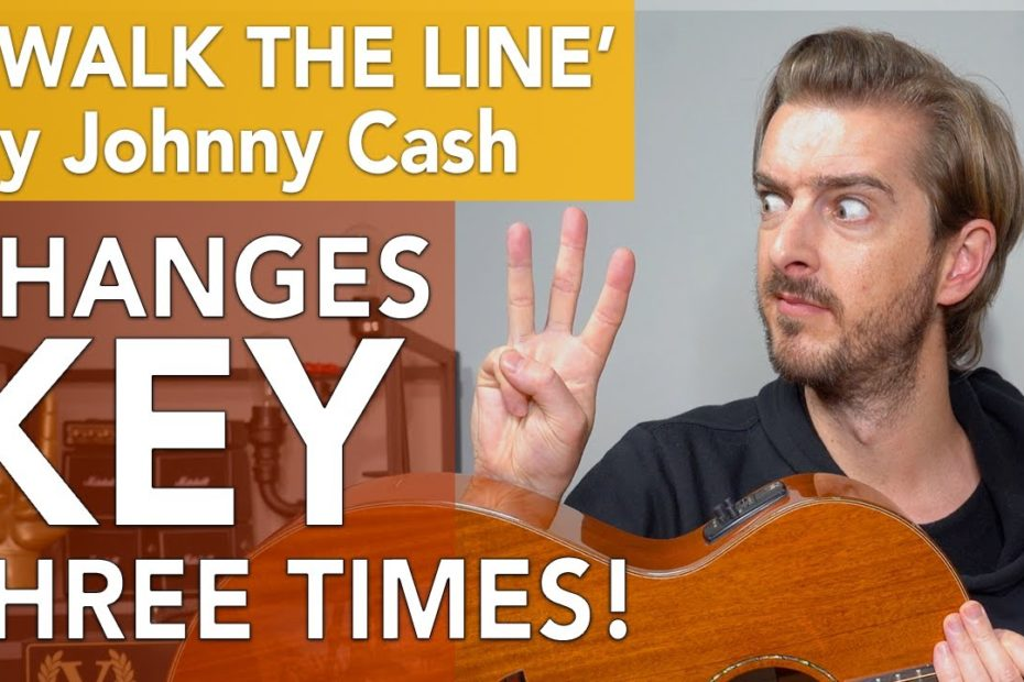 'I WALK THE LINE' by Johnny Cash - EASY CHORDS... but NOT EASY?