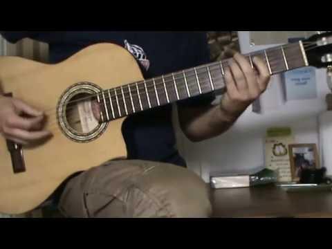 I'll Tell Me Ma guitar solo cover with TAB - irish folk guitar tab