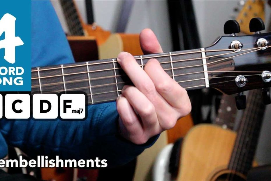 """""""I'm A Believer"""" Guitar Lesson Tutorial - 4 chord songs beginners - The Monkees"""