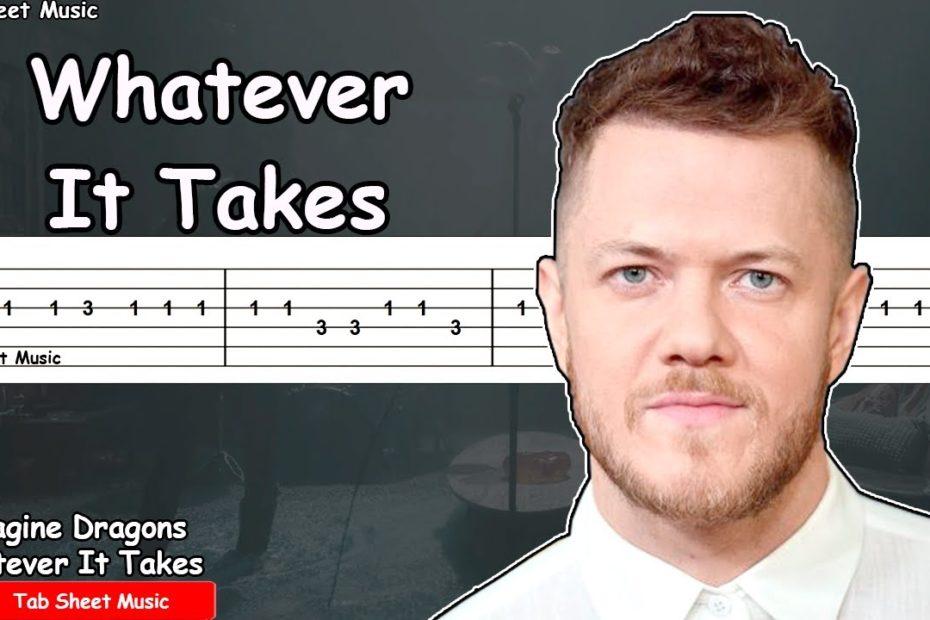 Imagine Dragons - Whatever It Takes Guitar Tutorial