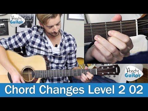 Improve Changes Between E, A & D Chords (Level 2 02) Beginner Guitar Tutorial