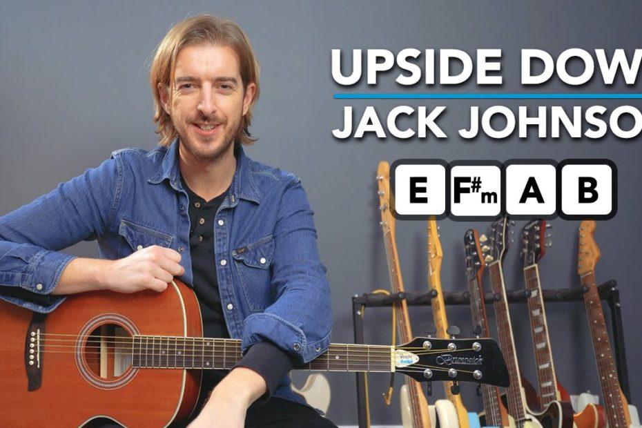 Jack Johnson Upside Down Guitar Lesson (Chords + EASY LEAD!)