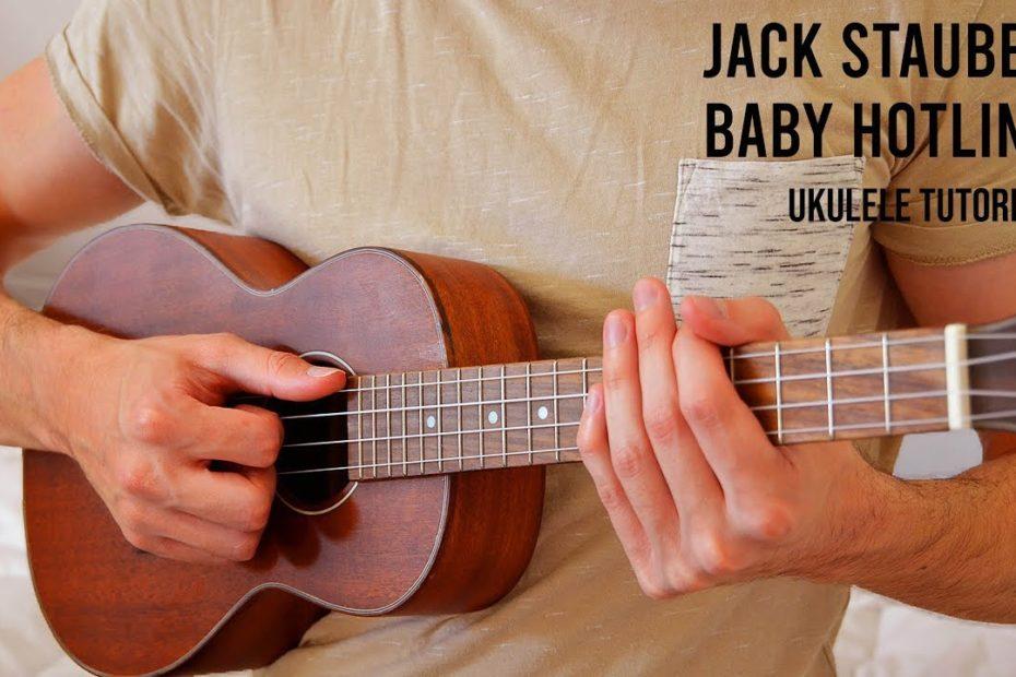 Jack Stauber – Baby Hotline EASY Ukulele Tutorial With Chords / Lyrics