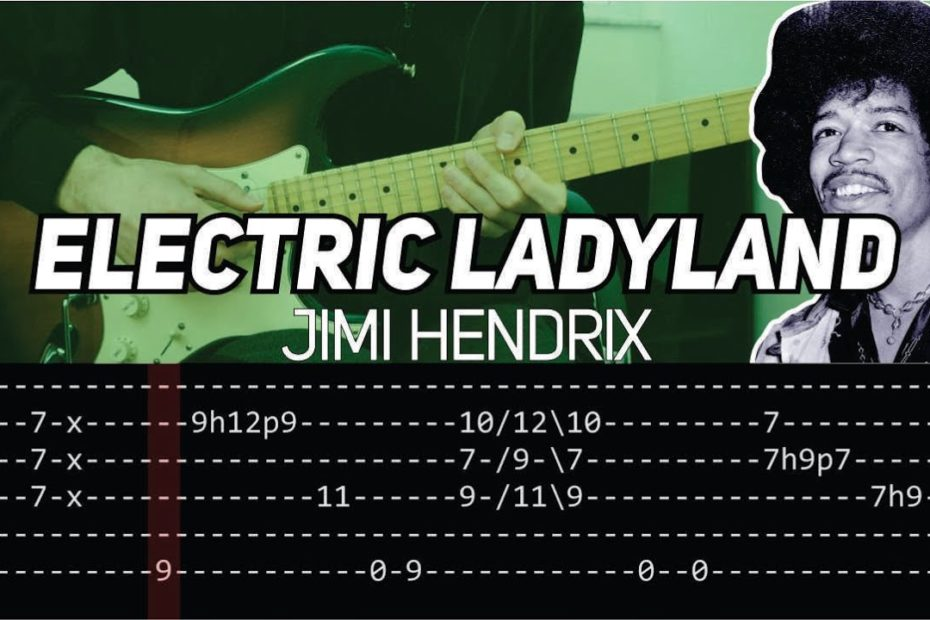 Jimi Hendrix - Electric Ladyland (Guitar lesson with TAB)