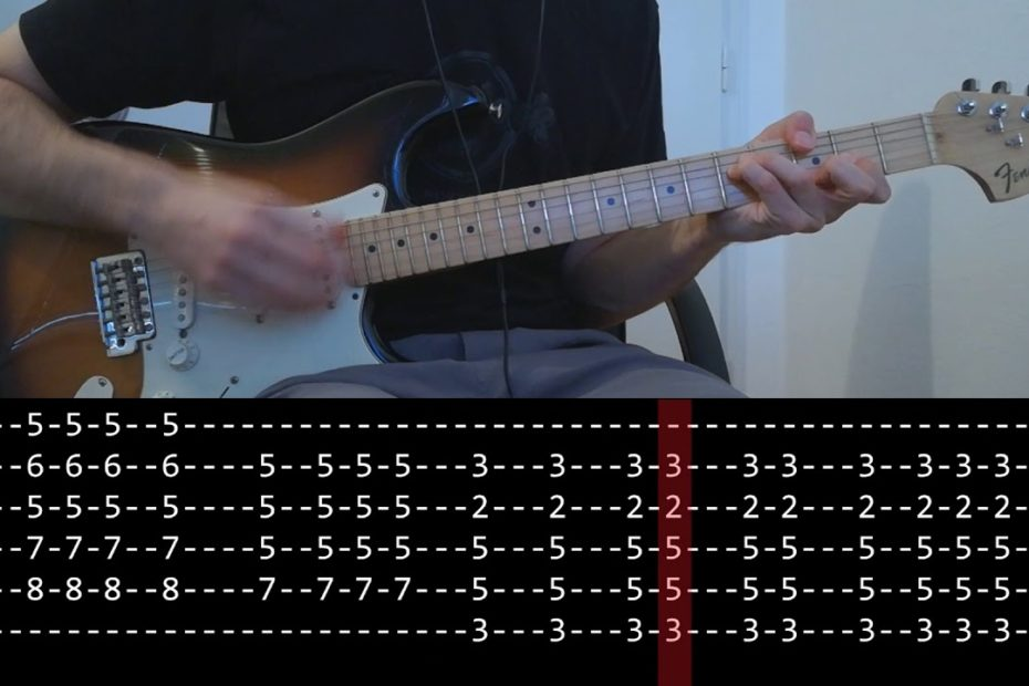 John Frusciante - Tiny Dancer (slow + Play Along Tab)