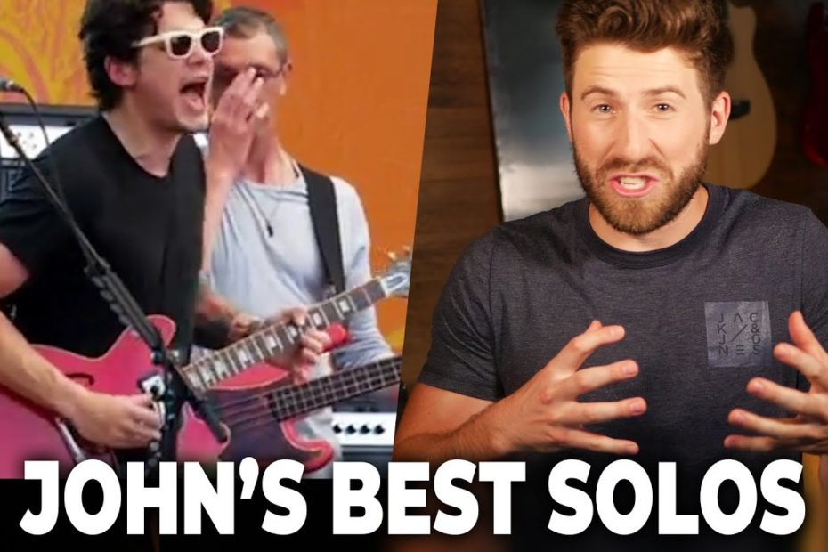 John Mayer Guitar Solos (Best of ALL TIME?!)
