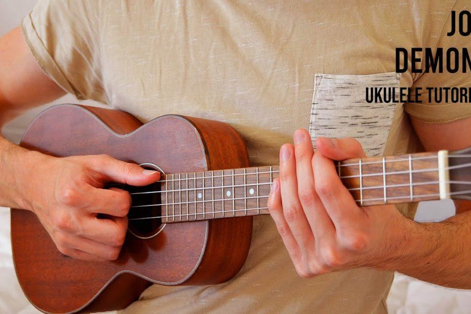 Joji – Demons EASY Ukulele Tutorial With Chords / Lyrics