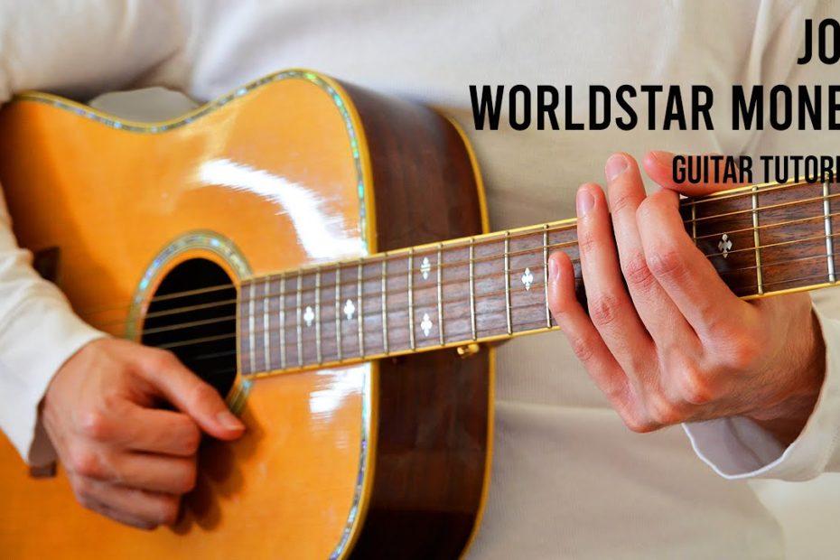Joji – Worldstar Money EASY Guitar Tutorial With Chords / Lyrics