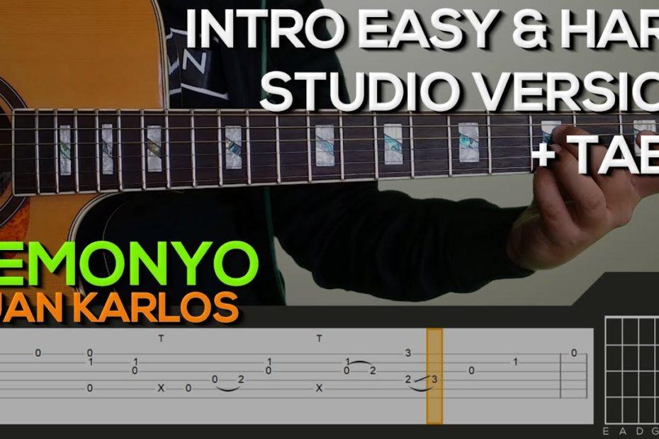 Juan Karlos - Demonyo Guitar Tutorial [INTRO + TABS]
