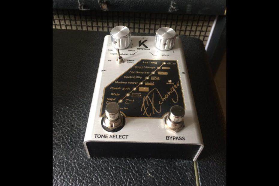 Keyztone - EXchanger : turn your Strat into a Les Paul or vice versa !