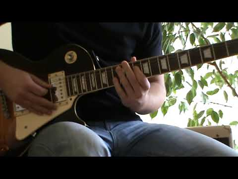 Kid Rock - All Summer Long solo cover with TAB (guitar solo lesson)