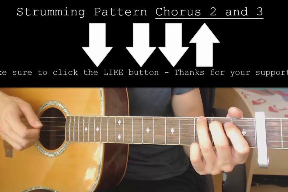 Kina – Get You The Moon Ft. Snow EASY Guitar Tutorial With Chords / Lyrics