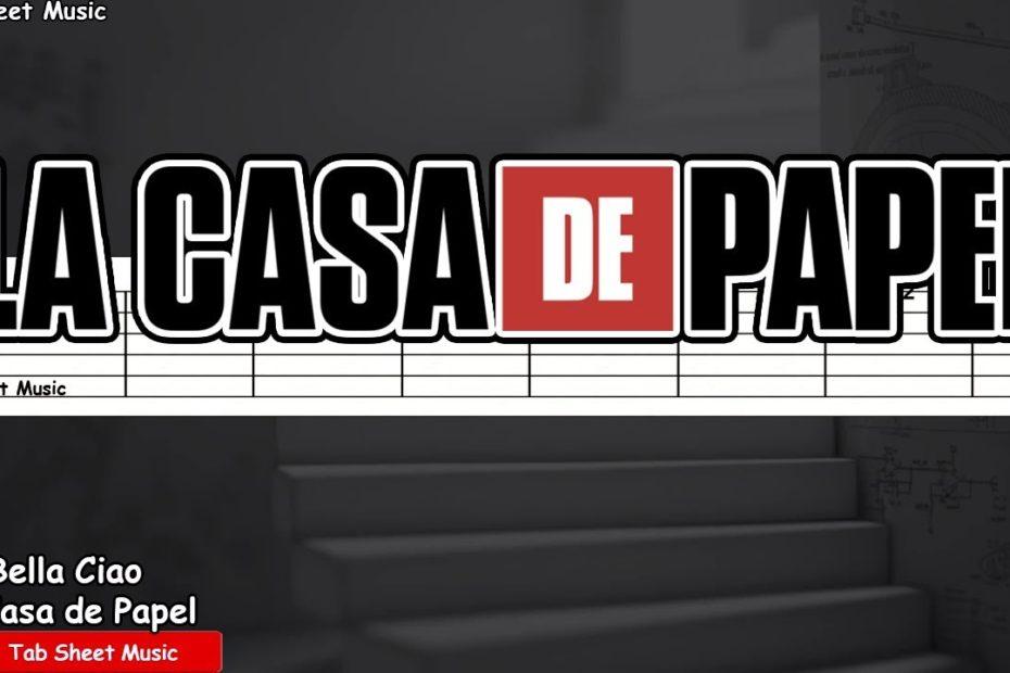 La Casa de Papel (Money Heist) - Bella Ciao Guitar Tutorial