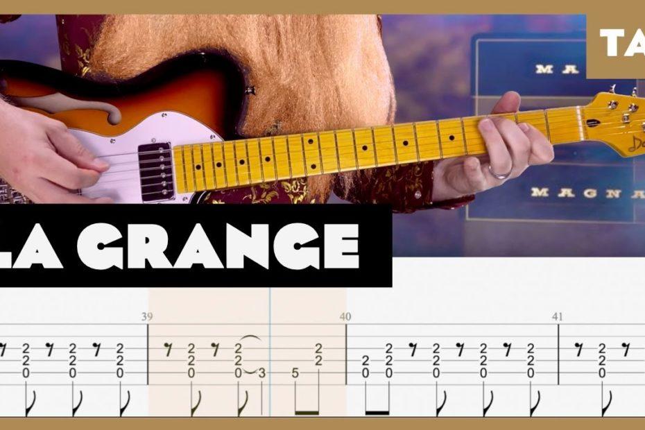 La Grange ZZ Top Cover   Guitar Tab   Lesson   Tutorial   Donner