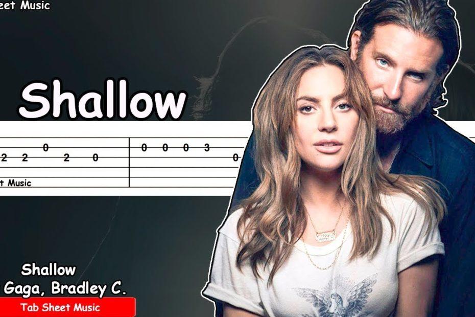 Lady Gaga, Bradley Cooper - Shallow (A Star Is Born) Guitar Tutorial