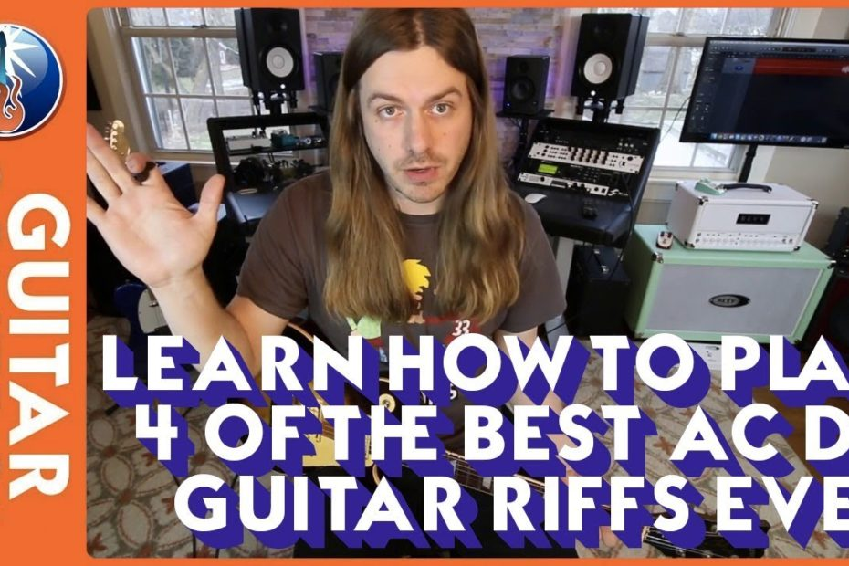 Learn How to Play 4 of the Best AC DC Guitar Riffs Ever