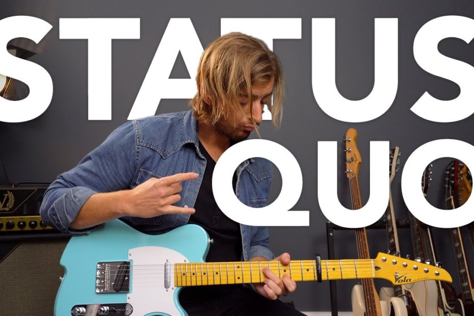 """Learn Status Quo """"Down Down"""" in OPEN G TUNING - Rock Guitar Lesson"""