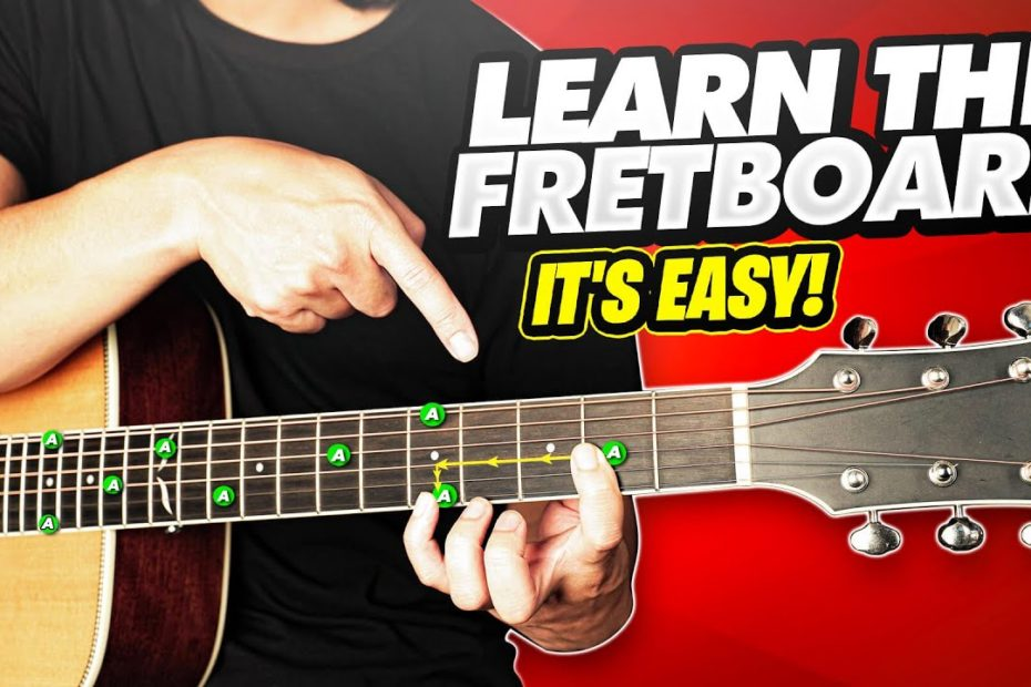 Learn The Fretboard - How To Memorize The Notes Of The Fretboard
