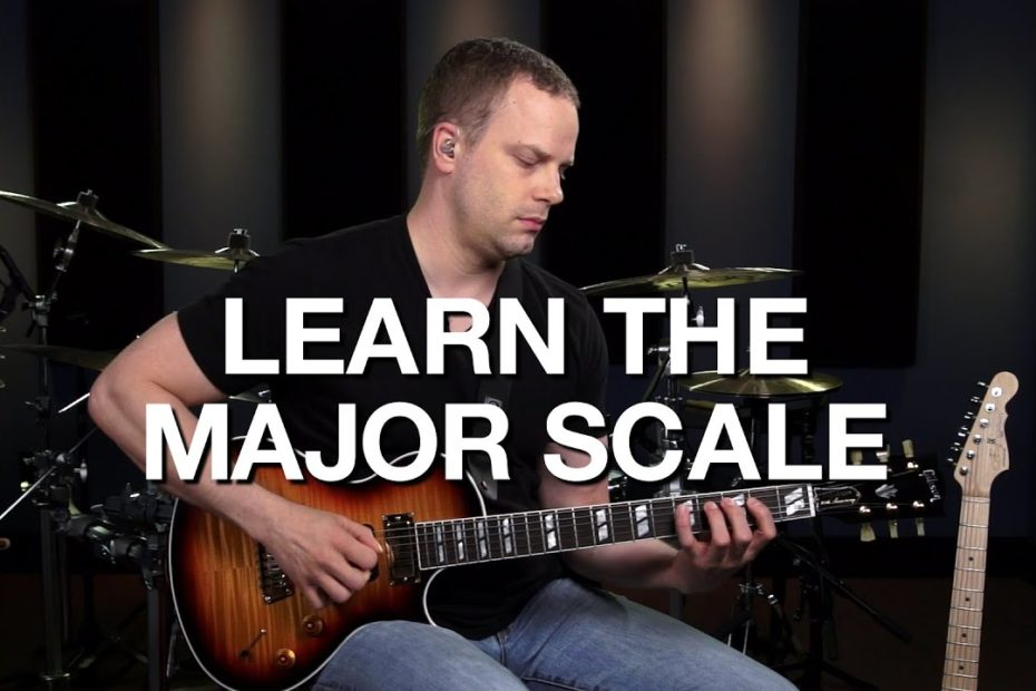 Learn The Major Scale On Guitar - Lead Guitar Lesson #3