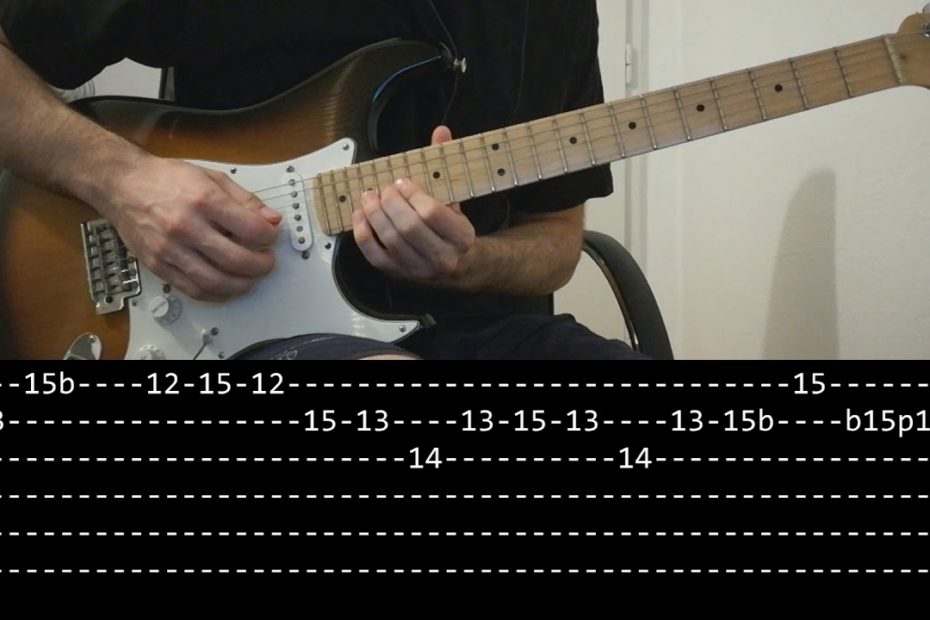 Led Zeppelin - Stairway to heaven solo (Guitar lesson with TAB)