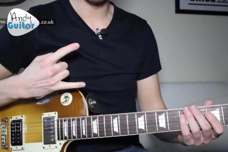 LED ZEPPELIN - WHOLE LOTTA LOVE Guitar Lesson Tutorial - How to play