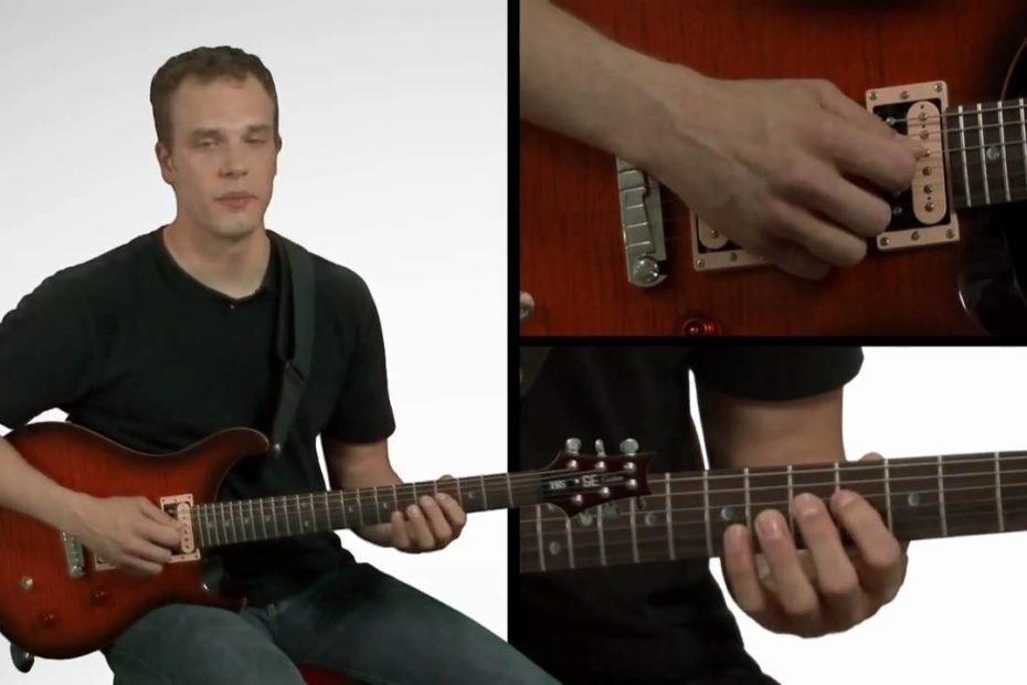 Legato Guitar Technique - Guitar Lessons
