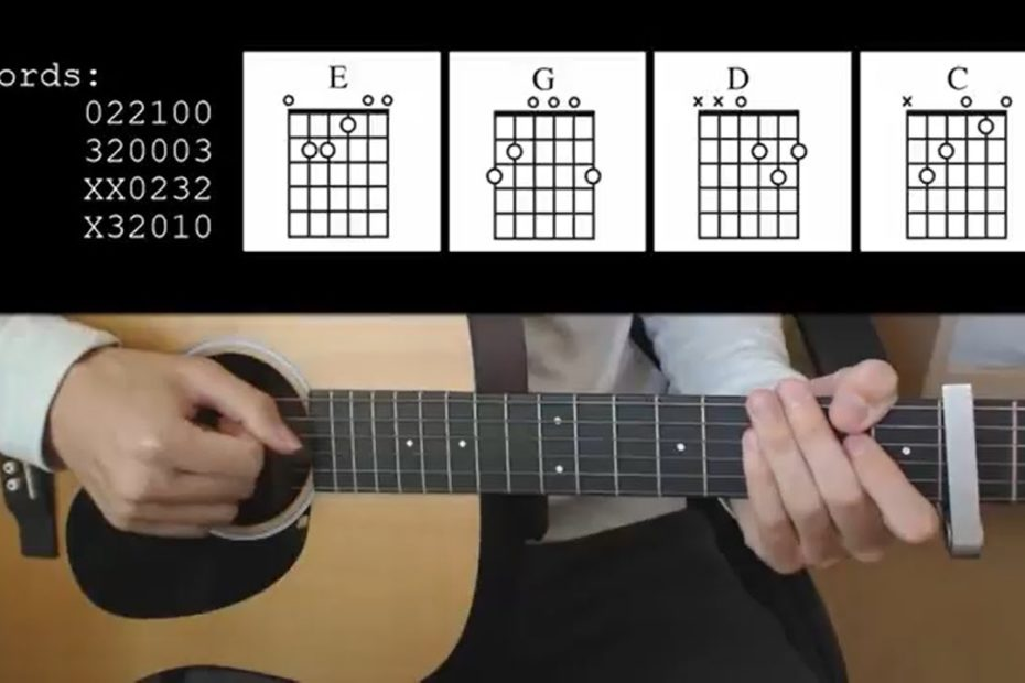 Lil Nas X - Old Town Road feat. Billy Ray Cyrus EASY Guitar Tutorial With Chords / Lyrics