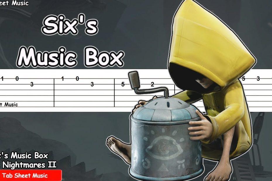 Little Nightmares 2 - Six's Music Box Guitar Tutorial