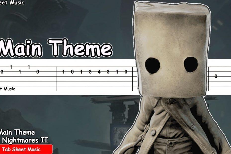 Little Nightmares II - Main Theme Guitar Tutorial
