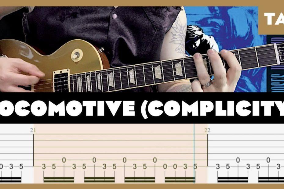 Locomotive (Complicity) Guns N' Roses Cover | Guitar Tab | Lesson | Tutorial