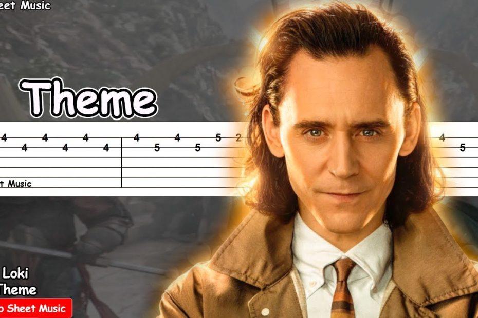 Loki - Main Theme (Disney) Guitar Tutorial