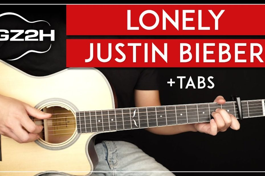 Lonely Guitar Tutorial - Justin Bieber Guitar Lesson