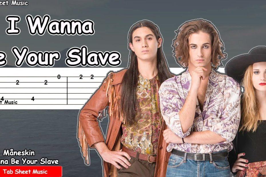 Måneskin - I Wanna Be Your Slave Guitar Tutorial