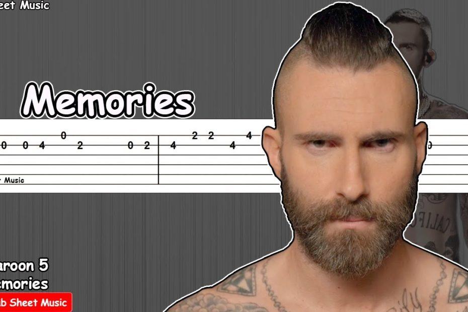 Maroon 5 - Memories Guitar Tutorial