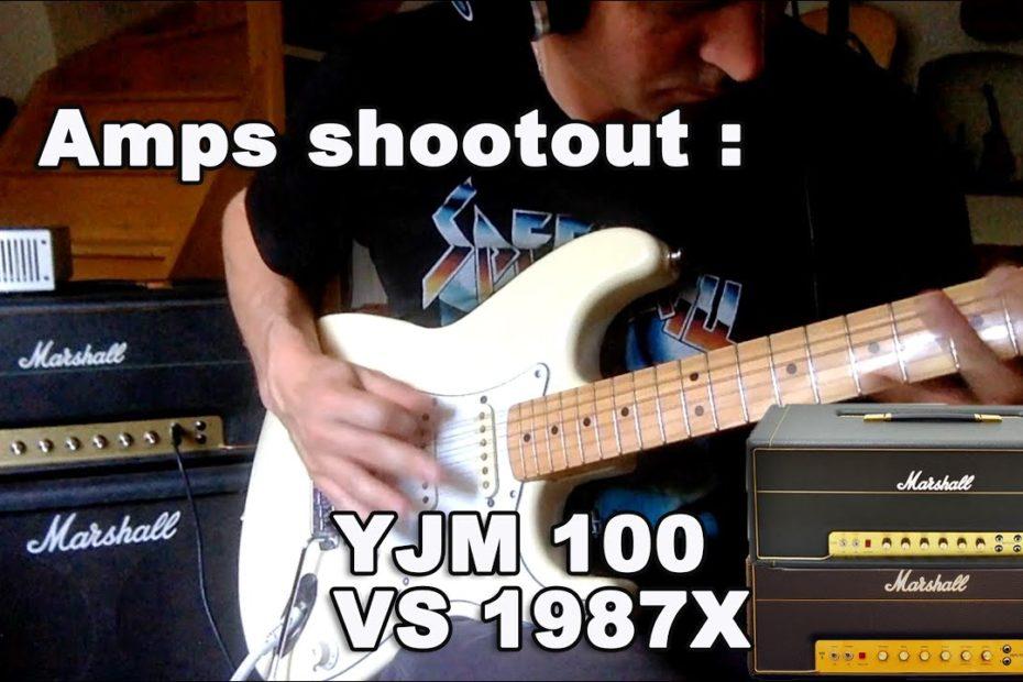 MARSHALL YJM100 VS 1987X with a GREY DOD