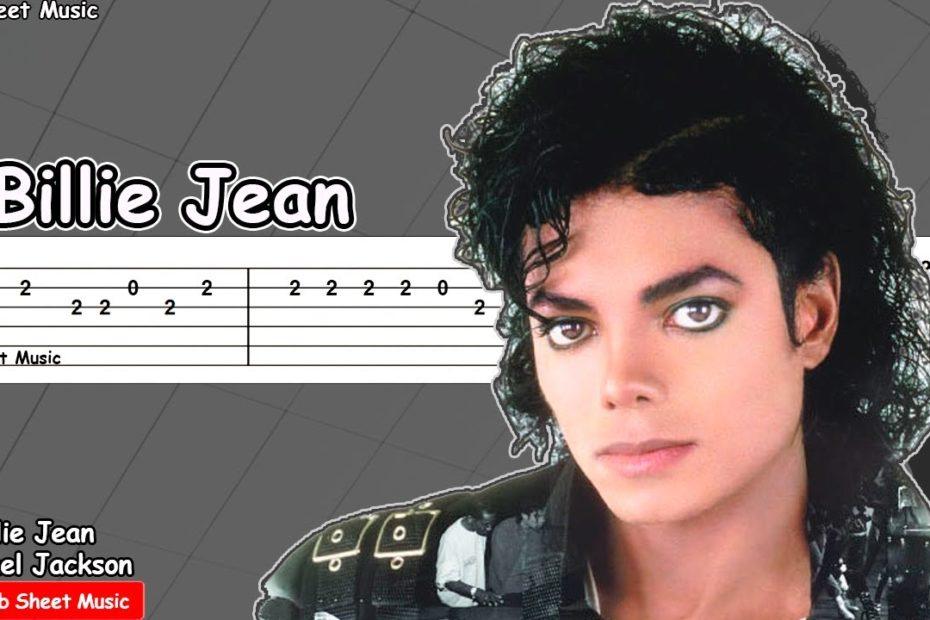 Michael Jackson - Billie Jean Guitar Tutorial