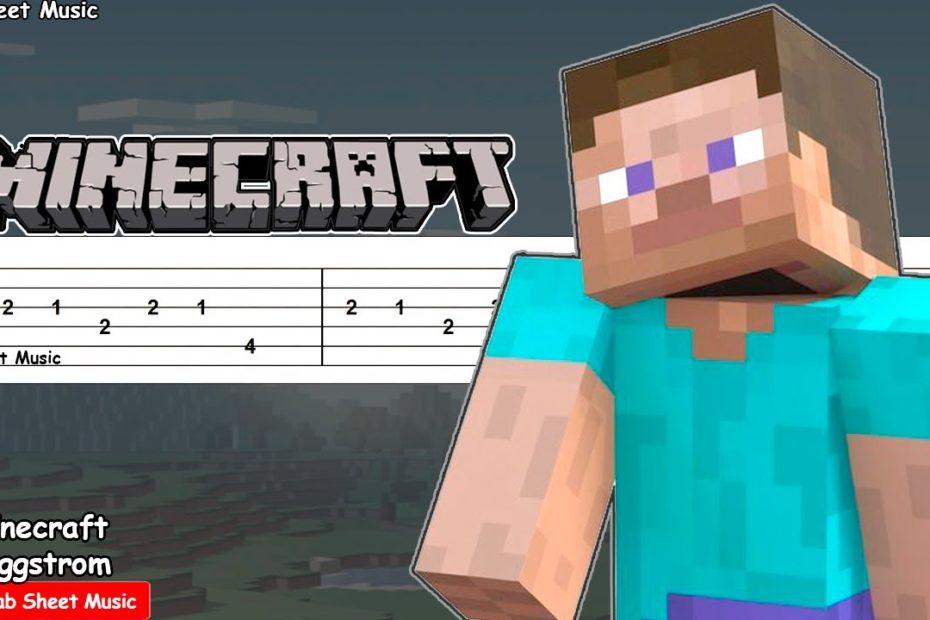 Minecraft - Haggstrom (C418) Guitar Tutorial