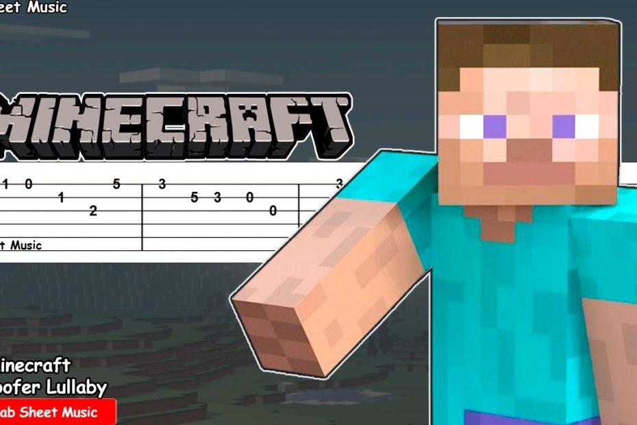 Minecraft - Subwoofer Lullaby (C418) Guitar Tutorial