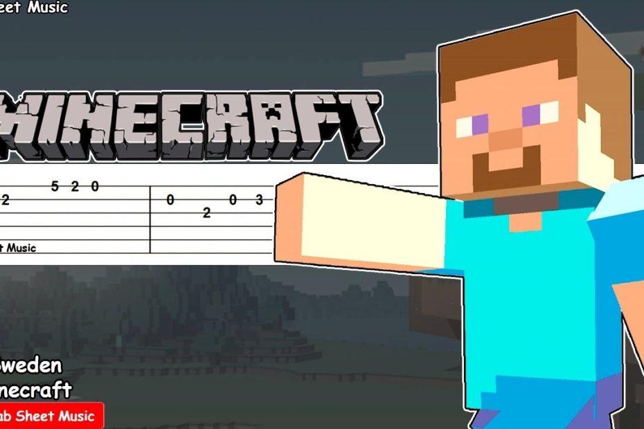 Minecraft - Sweden (C418) Guitar Tutorial