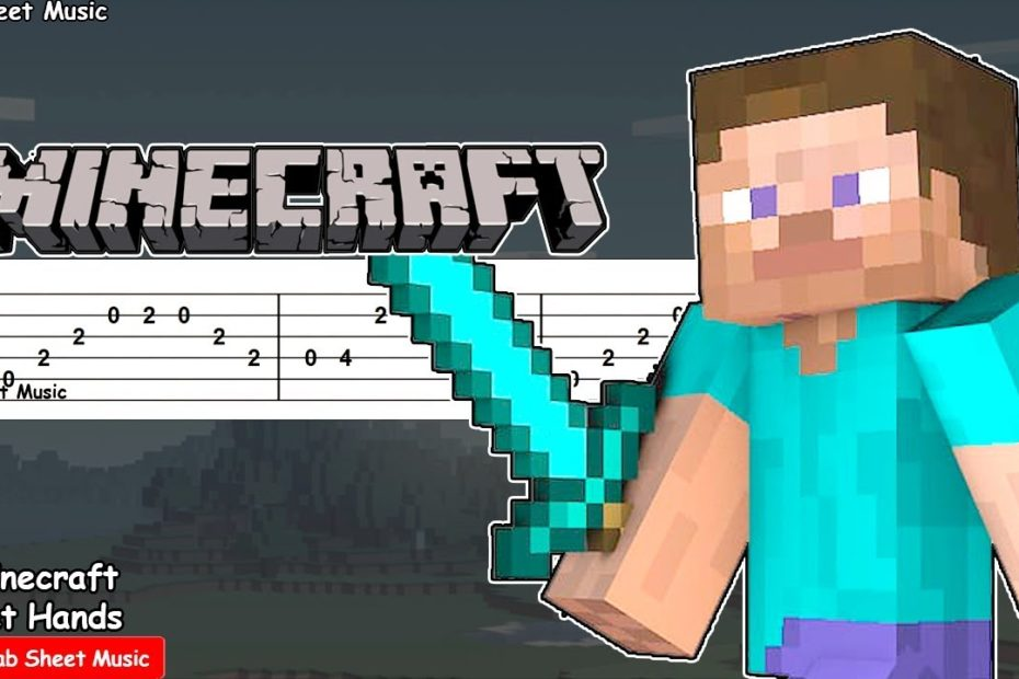 Minecraft - Wet Hands (C418) Guitar Tutorial
