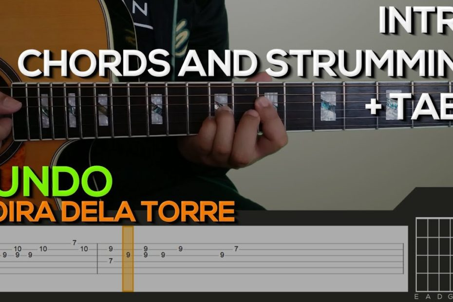 Moira Dela Torre - Sundo [INTRO, CHORDS & STRUMMING] Guitar Tutorial with (TABS on SCREEN)
