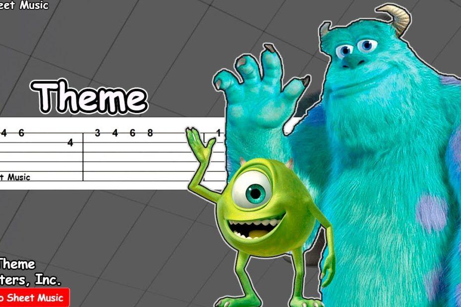 Monsters Inc. Theme - Guitar Tutorial