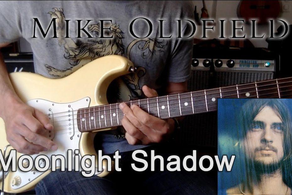 Moonlight Shadow - All Guitar Parts + TAB