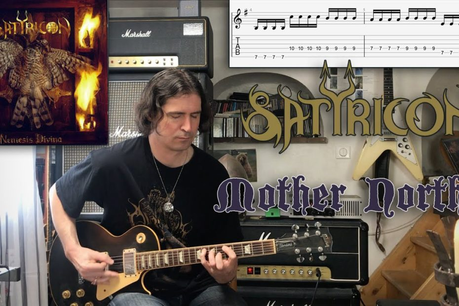 Mother North - Satyricon Cover |Tutorial | TAB | Lesson