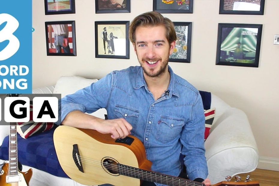 Mr Tambourine Man Guitar Lesson - EASY 3 Chord Song Tutorial - Byrds/ Bob Dylan
