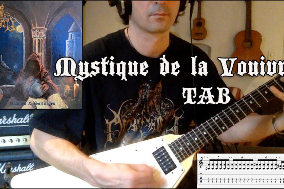 Mystique de la Vouivre - Darkenhöld (Guitar Riffs + TAB)